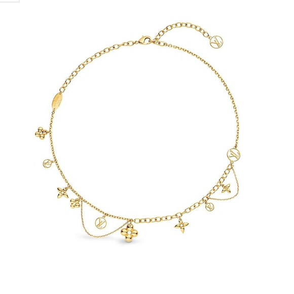 Louis Vuitton Jewelry - NEW Louis Vuitton Blooming Supple Necklace
